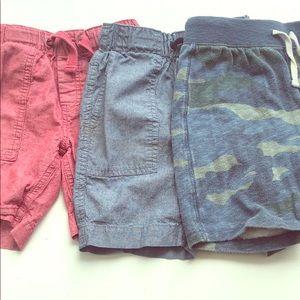 3 Crewcut shorts
